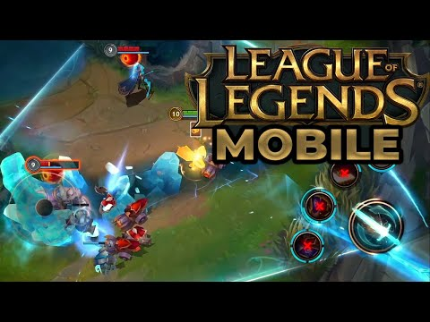 League Of Legends Wild Rift Announce Trailer Youtube