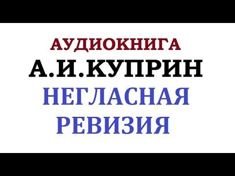 АУДИОКНИГА    А. И. КУПРИН    НЕГЛАСНАЯ РЕВИЗИЯ