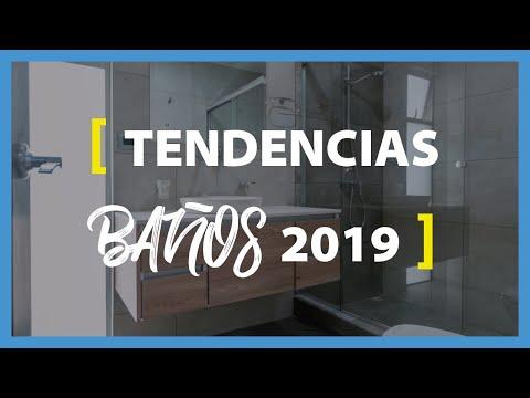 #163 [TENDENCIAS en Baños 2019] acabados contemporáneos en NUEVOS diseños de baños AGOSTO 2019