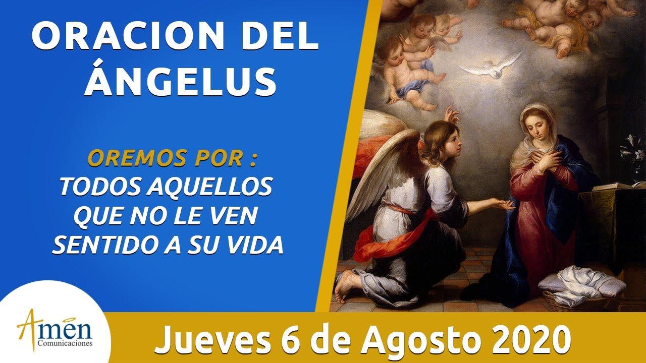 Ángelus l Jueves 6 Agosto  de 2020 l Padre Carlos Yepes