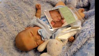 Reborn Baby Boy Reveal!  Luciano by Cassie Brace