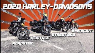 2020 Harley-Davidsons Have Arrived! (some of them)