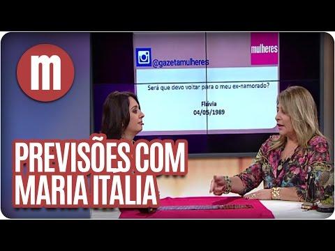 Mulheres - Previsões Com Maria Itália (24/03/16)