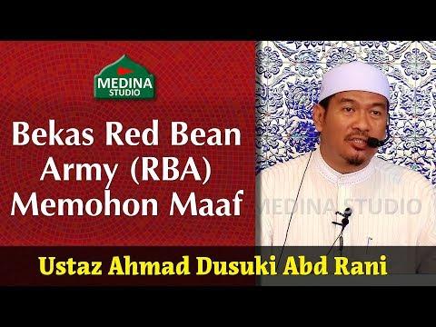 🎬ustaz-ahmad-dusuki-abd-rani---bekas-red-bean-army-(rba)-memohon-maaf