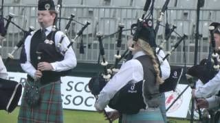 World  Pipe Band Championships 2015 - Boghall & Bathgate Juvenile
