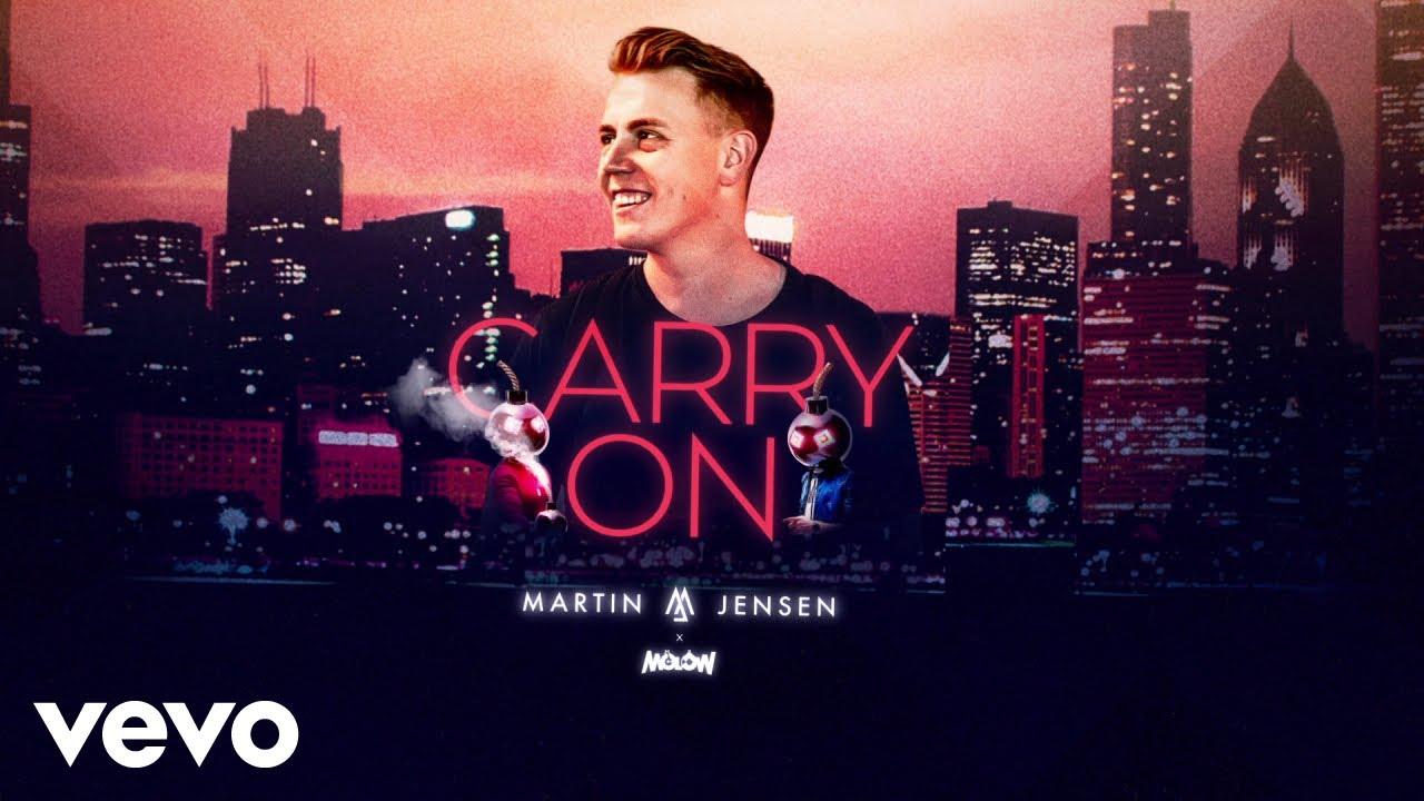 Download Martin Jensen, MOLOW - Carry On (Lyrics Video)