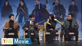 김지원·김명민 '조선명탐정: 흡혈괴마의 비밀' 제작보고회 -TALK- (Detective K, 오달수)