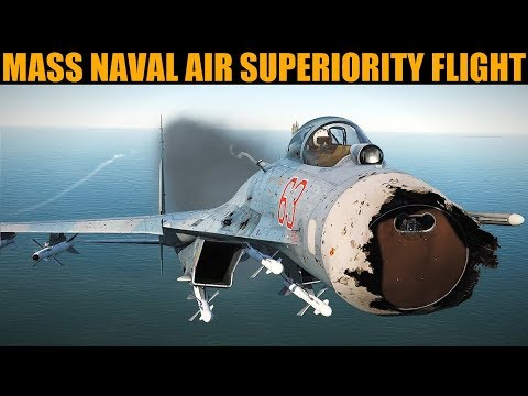 Fun Practice Naval Air Superiority Mission | DCS WORLD