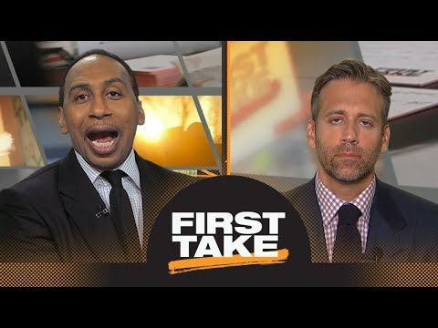 Stephen A., Max debate if Saquon Barkley, Baker Mayfield will justify their pick | First Take | ESPN