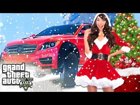 IT'S SNOWING!! - GTA 5 Christmas Update