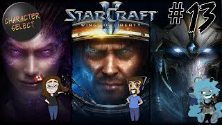 Starcraft 2: Wings of Liberty Part 13 - Invisible Last Stand - CharacterSelect