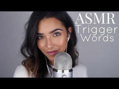 ASMR Trigger Words (Sleepy, Relax, Tingles, Glow, Stipple…+)