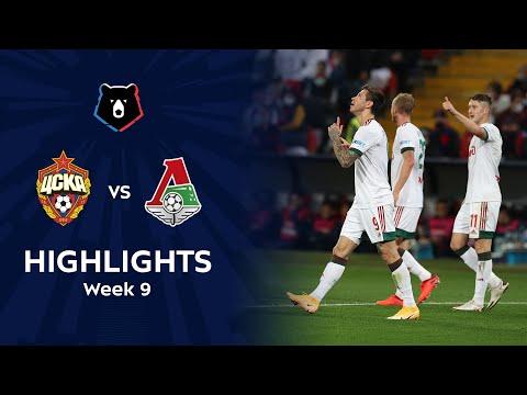 CSKA Moscow Lokomotiv Moscow Goals And Highlights