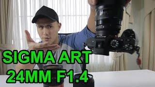 Sigma 24mm ART 1.4 Review (Sigma Vs Canon)