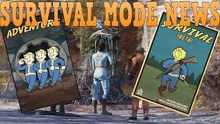 Survival Mode Server News!!! Confirmed!! Fallout 76