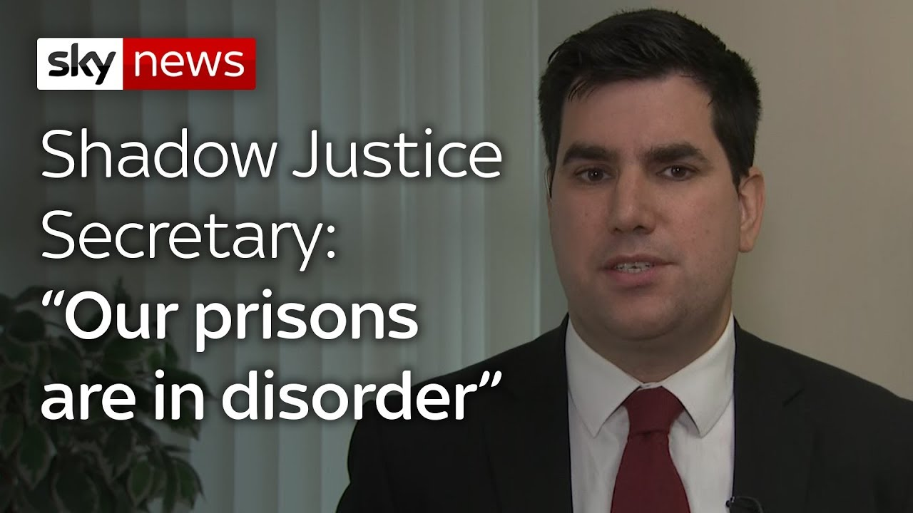 """""""Our prisons are in disorder"""""""