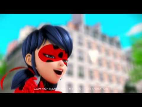 Miraculous Ladybug Trailer (Alternative English Theme Song)