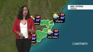 Previsão Grande Vitória – Possibilidade de chuva