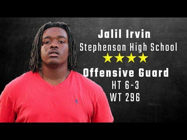 jalil-irvin-highlights-auburn-signee-from-stephenson-high-school
