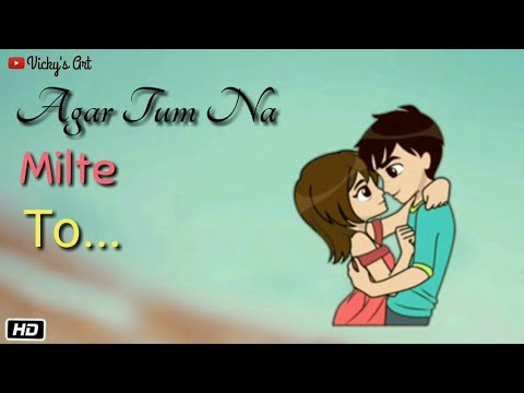 Hart Touching Song | Nazar Chahti Hai Deedar Karna | WhatsApp Status 2019 | Vicky's Art