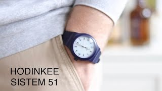 The Hodinkee Swatch Sistem 51 Blue Edition Review