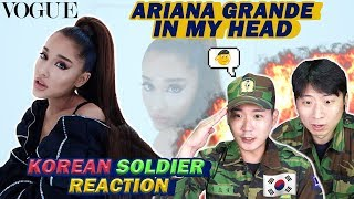 🔥(ENG)/ KOREAN Soldiers / react to ARIANA GRANDE - IN MY HEAD (VOGUE PERFORMANCE) 🔥
