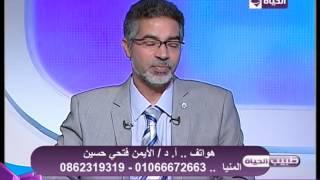 طبيب الحياة - ما سبب عدم خروج السائل المنوي - د. الأيمن فتحي حسين - أستاذ جراحة المسالك البولية