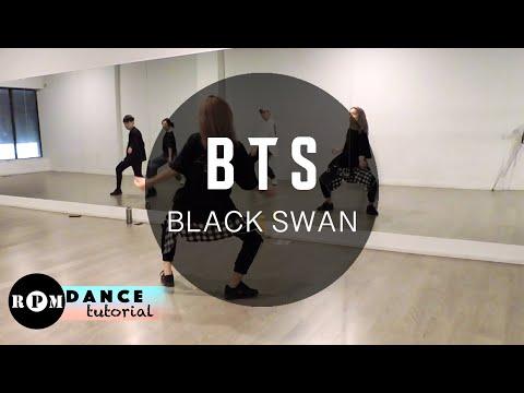 "BTS ""Black Swan"" Dance Tutorial (Chorus, Ending)"