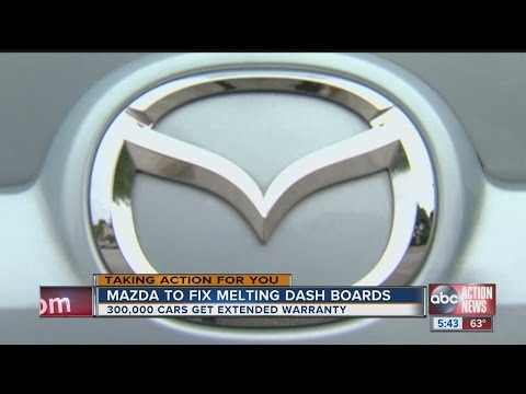 Mazda Extends Warranty To Fix Melting Dash Boards