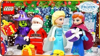 ♥ LEGO Disney Frozen Elsa CHRISTMAS SURPRISE by Santa Claus (Belle, Anna, Rapunzel, Vampire...)
