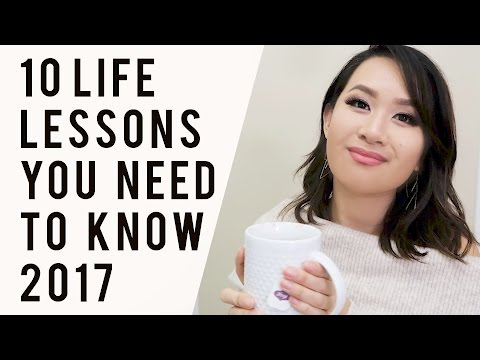 10 Valuable Life Lessons You Need to Know for 2017 | ANN LE