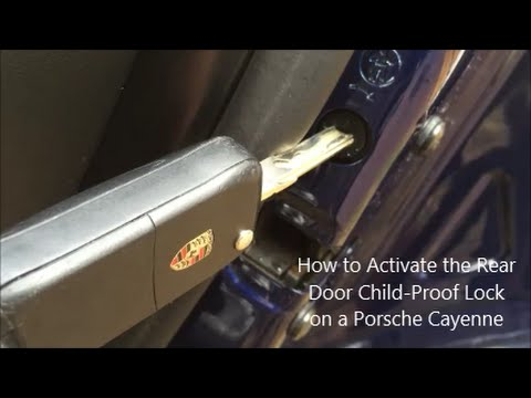 How To Activate The Rear Door Child Proof Locks On A