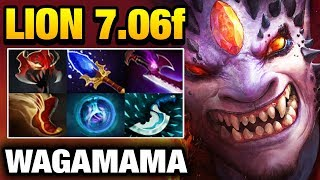 SUPER LION CARRY Try out new Buff 7.06f by Wagamama Dota 2