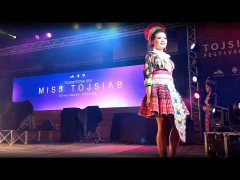 Hmong Beauty Pageant Contestants Chiang Mai, Thailand (HmongPro Tojsiab Festival)