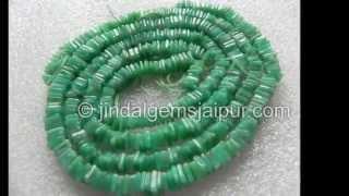 Beautiful Apple Green Colour Chrysoprase Gemstone Beads Wholesale