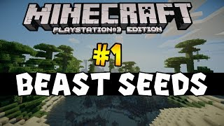 Minecraft (PS3 / XBOX360) Beast Seeds #1 - Jungle Island