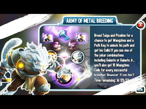Download NEW ARMY OF METAL BREEDING/EVENT GAMEPLAY: Monster Legends