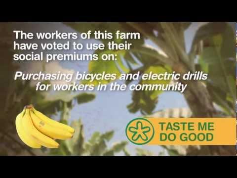 INTERRUPCION FAIR TRADE & ORGANIC FARMING - TASTE ME DO GOOD CAMPAIGN