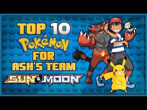 Top 10 Pokémon Ash Might Catch in Pokémon Sun and Moon