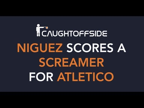 Saul niguez scores a screamer for atletico in the europa league - caught offside daily news