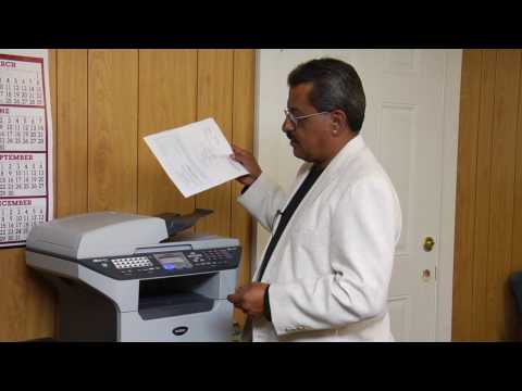 Fax Machines & Printers : How to Use a Brother Fax Machine