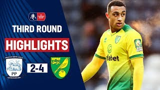 Teenager Idah Bags Hat-Trick! | Preston North End 2-4 Norwich City | Emirates FA Cup 19/20