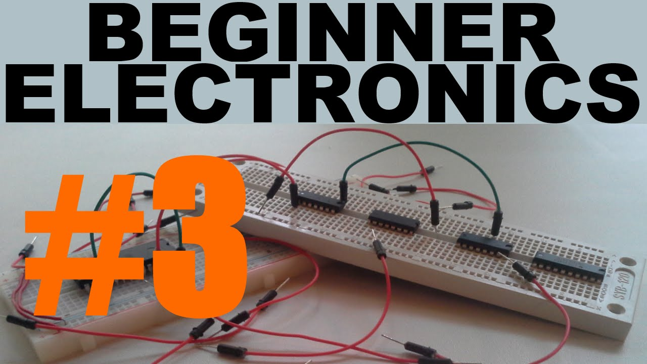 Beginner Electronics - 3 - Closed/Open Circuits