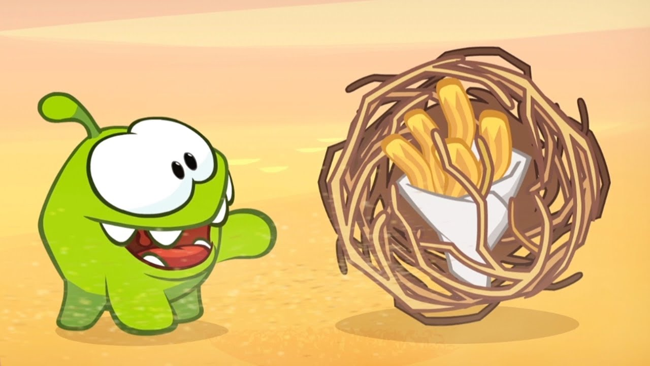 Om Nom Stories - Sweet Duel | Cut The Rope | Funny Cartoons For Kids