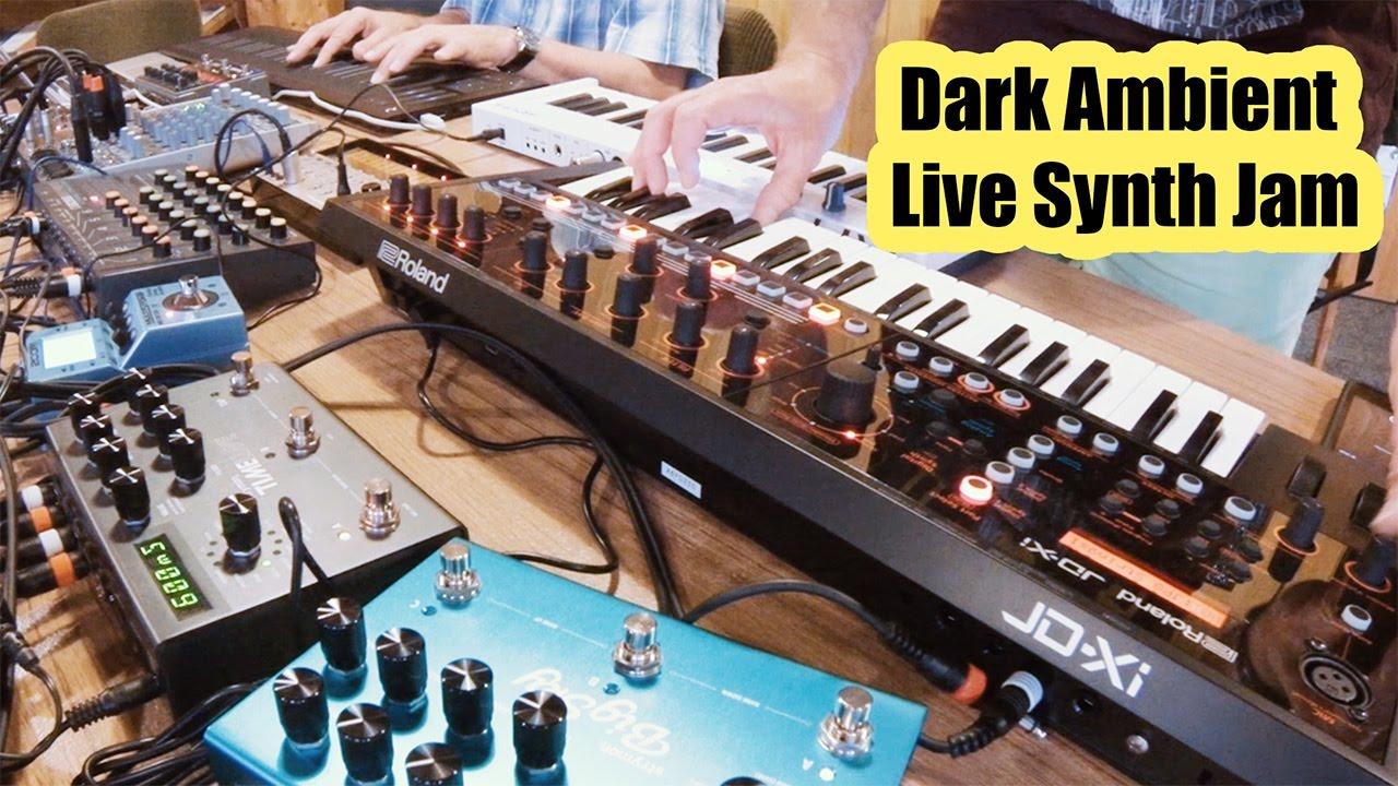 dark ambient synth jam roland jd xi strymon fx doepfer modular volca keys roli seaboard. Black Bedroom Furniture Sets. Home Design Ideas
