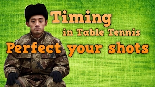 table tennis timing | Perfect your stroke