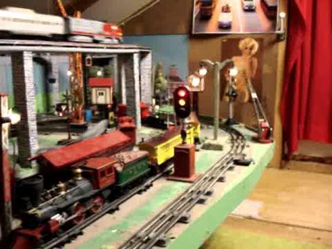 Marx Tranis, Lionel und viele Andere auf meiner Spur 0 Blechbahn