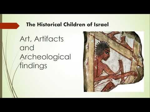 Images Of True Israelites In Artifacts