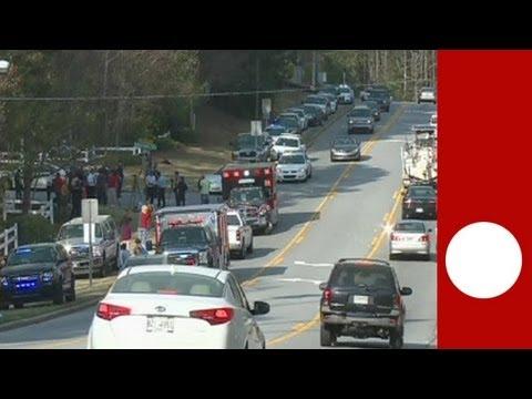 USA: Fire-fighters taken