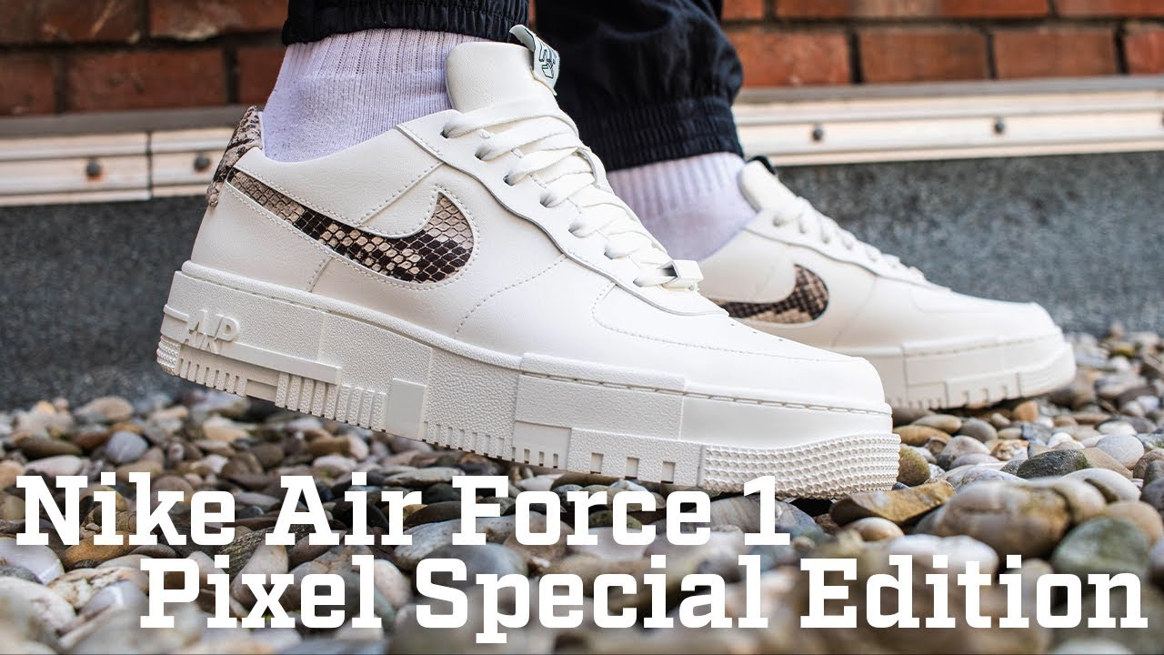 On Feet: Nike Air Force 1 - Pixel Special Edition